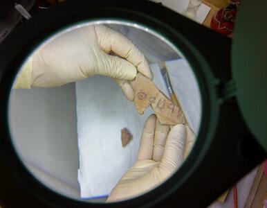 """Na naczyniu sprzed 3100 lat odkryto biblijną inskrypcję. """"Niezwykle..."""