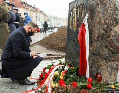 """Duda uczcił pamięć ofiary zbrodni katyńskiej. """"Celem Sowietów było..."""
