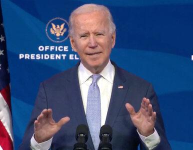 """Biden ostro o zamieszkach na Kapitolu. """"Tłuszcza siejąca zamęt,..."""