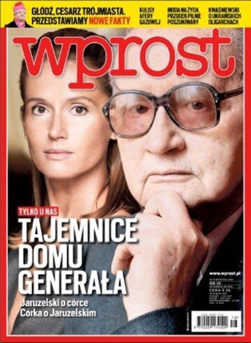 Okładka tygodnika Wprost nr 16/2013 (1573)