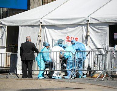 USA. 1,2 tys. ofiar śmiertelnych koronawirusa w ciągu doby