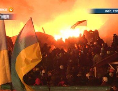 Berkut szturmuje Majdan. Kijów zamkniętym miastem od godz. 23