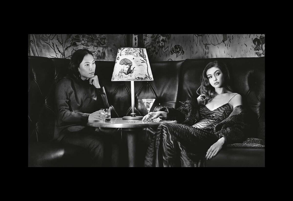 Gigi Hadid i Alexander Wang