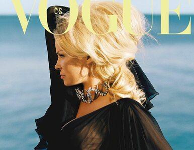 """Pamela Anderson na okładce """"Vogue Czechoslovakia"""". To pierwsza taka..."""