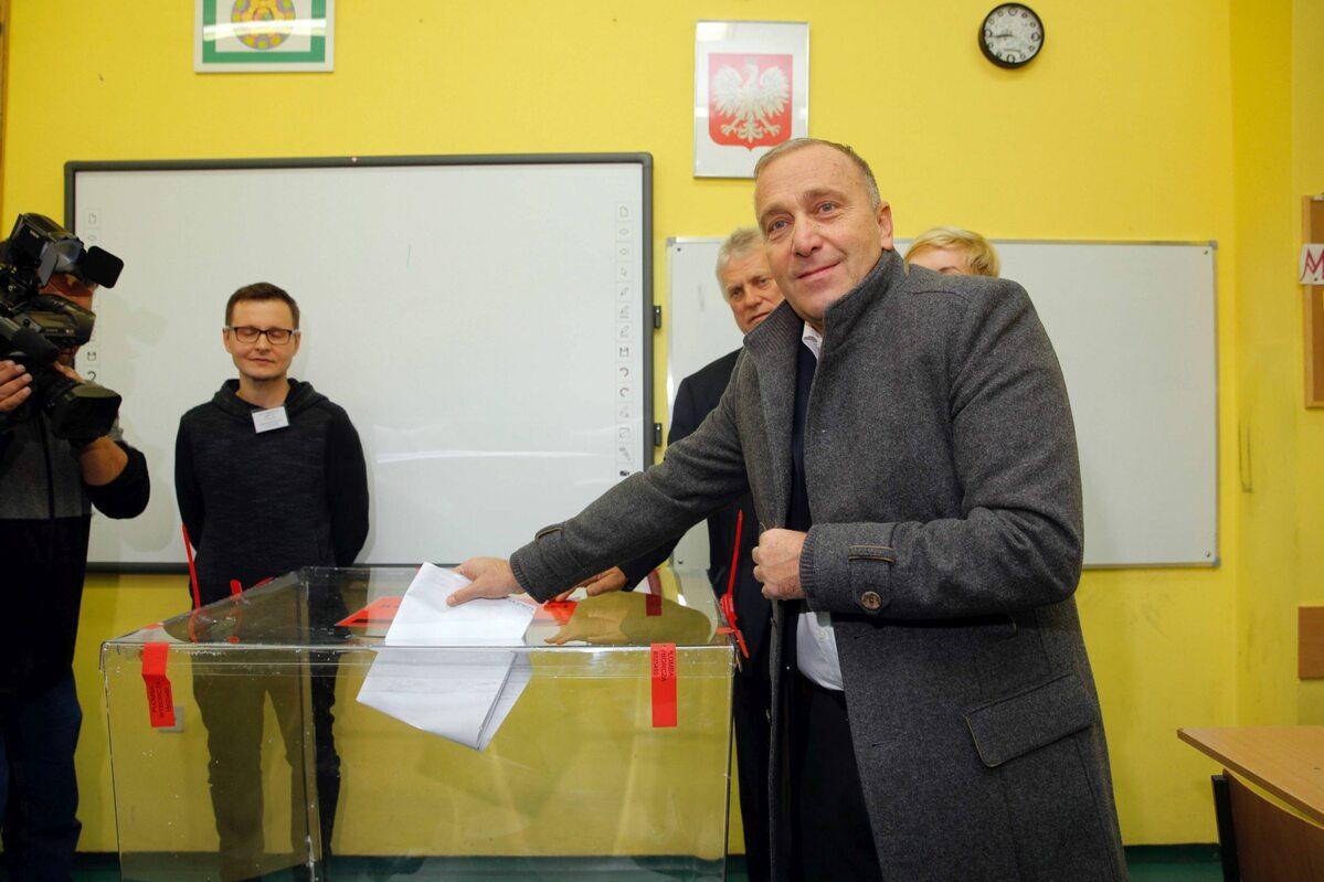 Grzegorz Schetyna głosował we Wrocławiu