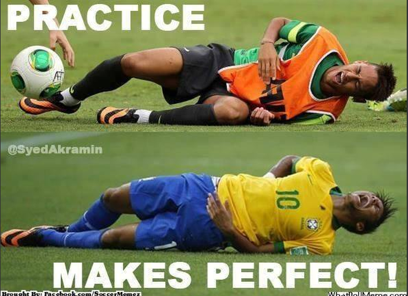 Trening czyni mistrza!