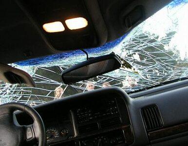 Zderzenie czterech aut. Trasa Siekierkowska zakorkowana