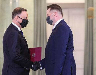 Przemysław Czarnek powołany na urząd ministra. Prezydent wręczył mu...