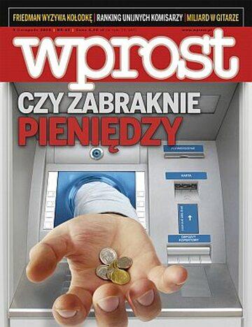 Okładka tygodnika Wprost nr 45/2008 (1350)