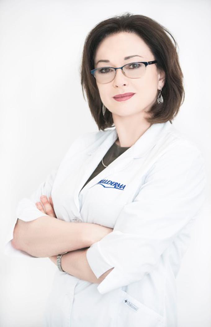 Lek. med. Specjalista dermatolog Oksana Zarewycz-Skórka