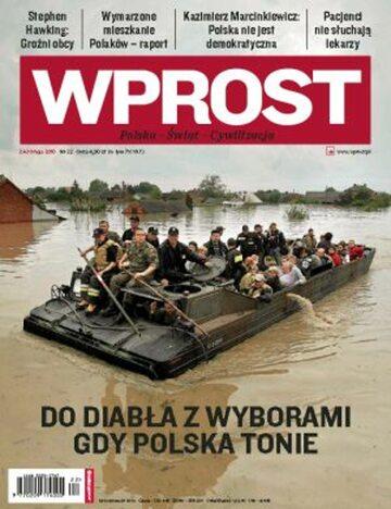 Okładka tygodnika Wprost nr 22/2010 (1425)