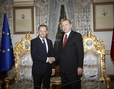 """Tusk radzi Erdoganowi, by miał """"grubszą skórę"""" i mówi o podobnych..."""