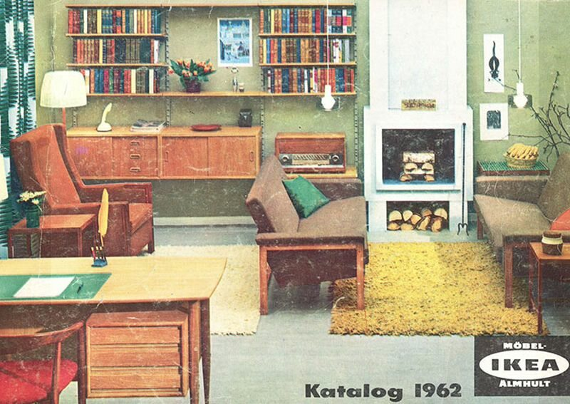 Okładka katalogu IKEA z 1962 roku