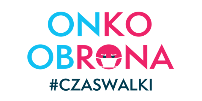 Onkoobrona – logo kampanii fundacji Alivia