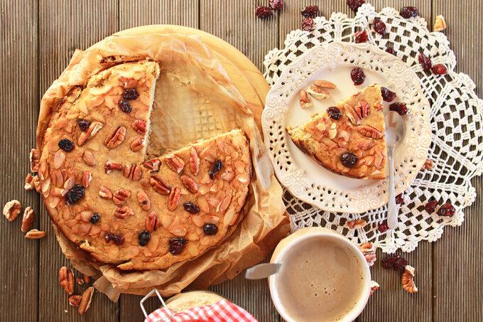 Ciasto nabazie mąki zmigdałów