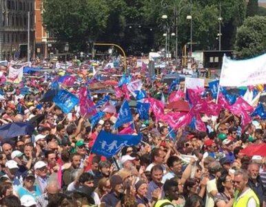 """Rzym: Manifestacja w obronie tradycyjnej rodziny. """"Chrońmy nasze dzieci..."""