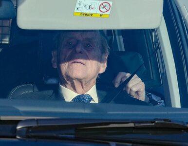 97-letni książę Filip miał wypadek. Pałac Buckingham wydał oświadczenie