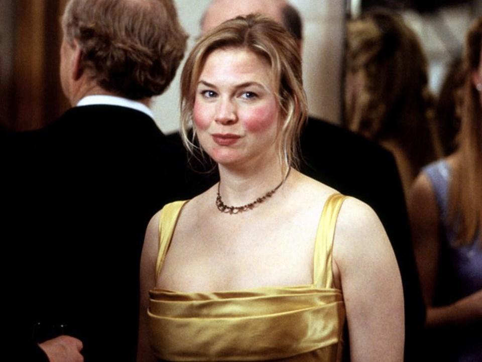 """Renée Zellweger w filmie """"Bridget Jones: W pogoni za rozumem"""" (2004)"""