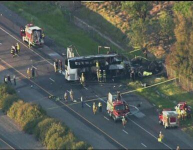 Tragiczny wypadek autobusu szkolnego w USA. Zginęło 10 osób