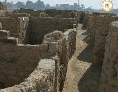 """W Egipcie odkryto """"zaginione złote miasto"""". Ruiny pochodzą sprzed 3 tys...."""