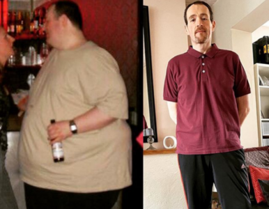 """Schudł ponad 130 kg, przeszedł ogromną metamorfozę. """"To uratowało mi..."""