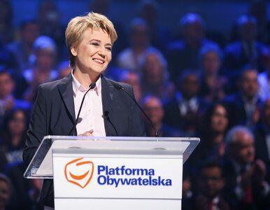 Sasin o Zdanowskiej: Nawet jeśli wygra, nie będzie mogła zostać prezydentem