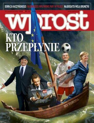 Okładka tygodnika Wprost nr 42/2008 (1347)