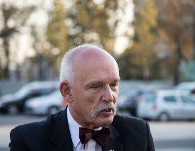 Korwin-Mikke komentuje domniemaną seksaferę Niesiołowskiego: Powołać...