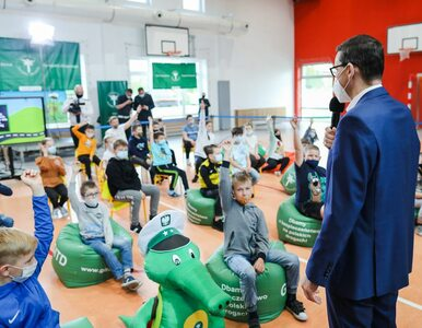 Czy Morawiecki był grzeczny w szkole? Premier w ogniu pytań od dzieci