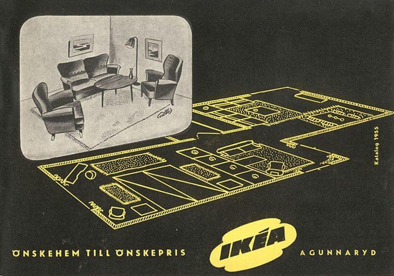 Okładka katalogu IKEA z 1955 roku