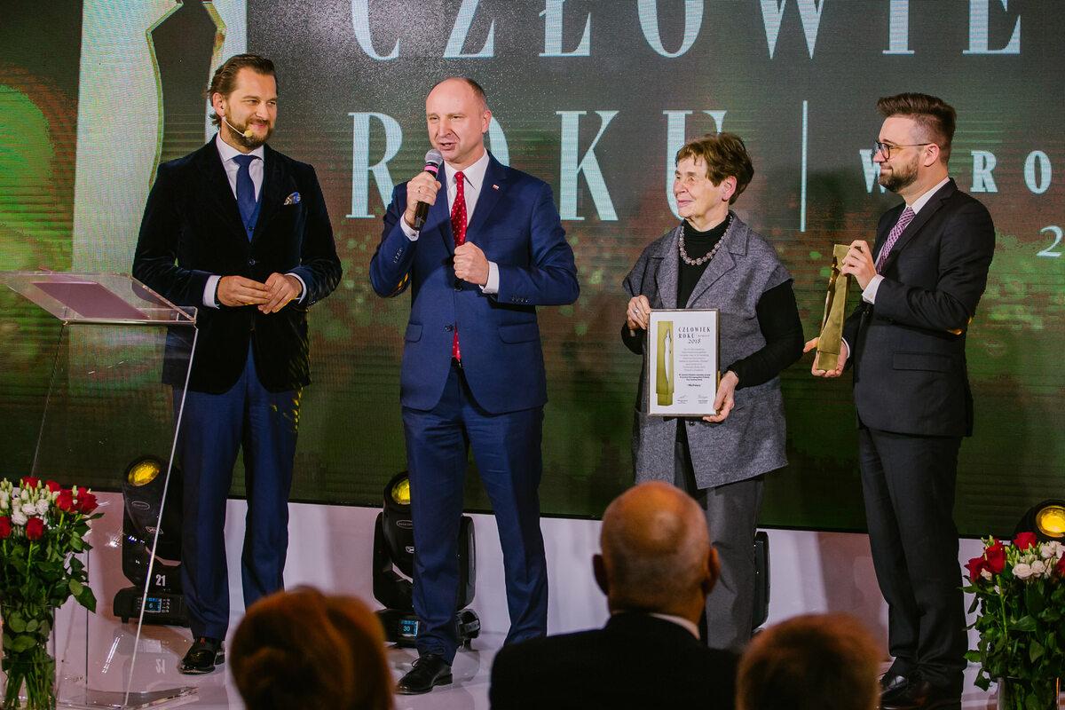 """Nagroda Człowiek Roku 2018 tygodnika """"Wprost"""""""