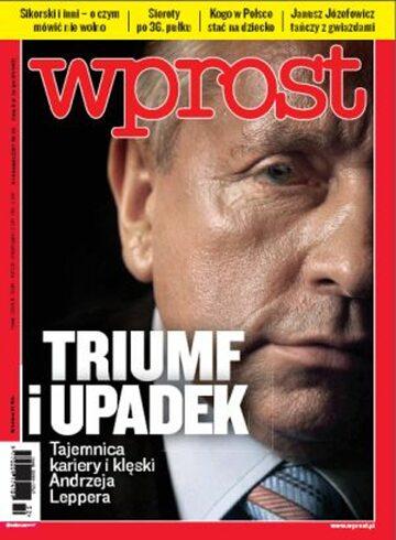 Okładka tygodnika Wprost nr 32/2011 (1487)