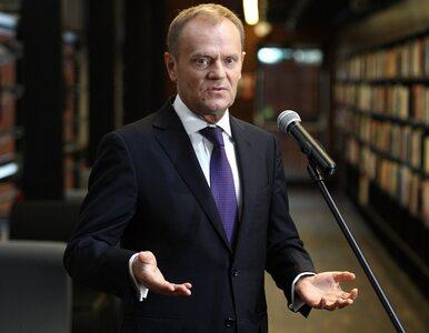 Tusk: Dziękuję Komorowskiemu za dobrą prezydenturę
