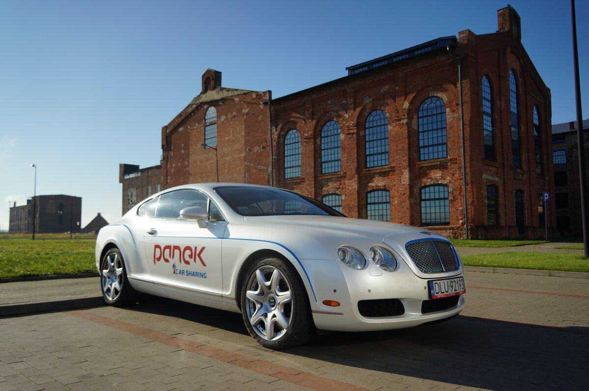 Bentley Continental GT w car-sharingu Panka