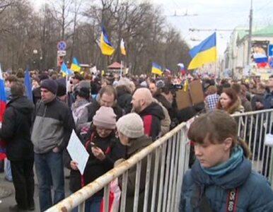 Kilkadziesiąt tysięcy Rosjan protestowało przeciw Putinowi