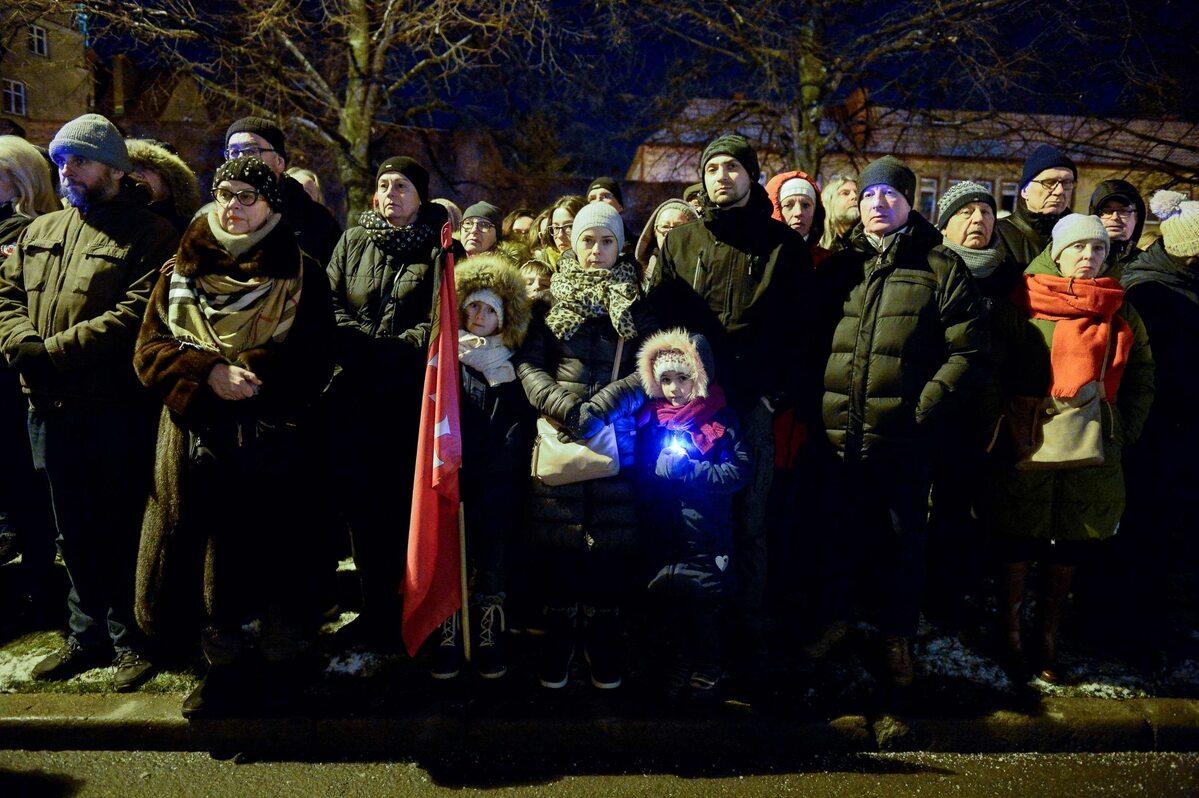 Mieszkańcy Gdańska tłumnie żegnali swojego prezydenta