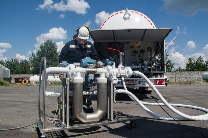 SMOK może być wykorzystywany nastacjach tankowania gazem autobusów miejskich wwarszawskich zajezdniach