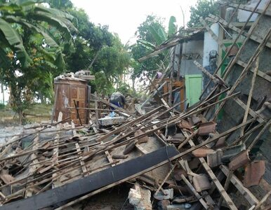 Silne trzęsienie ziemi na wyspie Lombok. Nie żyje co najmniej 10 osób