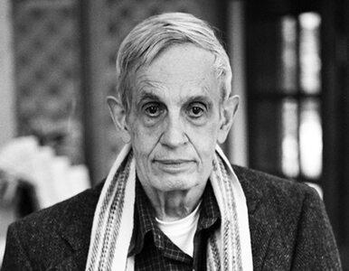 """Zmarł John Nash - matematyk z """"Pięknego umysłu"""""""