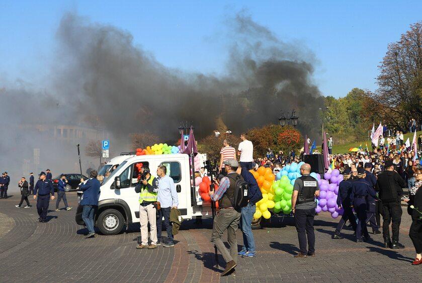 Zdjęcie z Marszu Równości w Lublinie