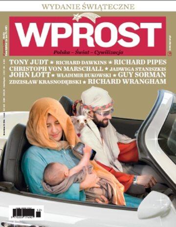 Okładka tygodnika Wprost nr 52/2009 (1405)