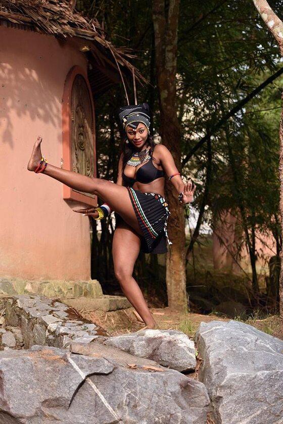 Finalistki konkursu MISS Africa 2018