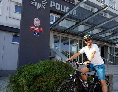 Policjant na rowerze zatrzymał Porsche. Jego kierowcy grozi więzienie