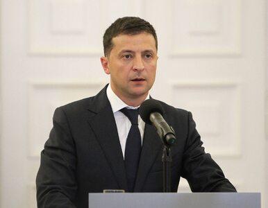 """Zestrzelenie ukraińskiego samolotu. Zełenski mówi o """"pociągnięciu..."""