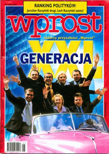 Okładka tygodnika Wprost nr 21/2001 (965)