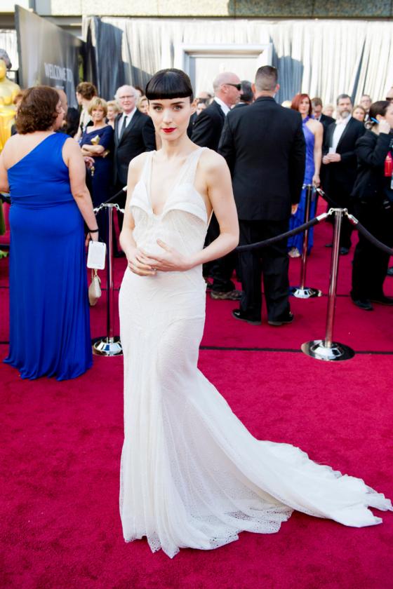 Rooney Mara podczas 84. ceremonii rozdania Oscarów w 2012 roku