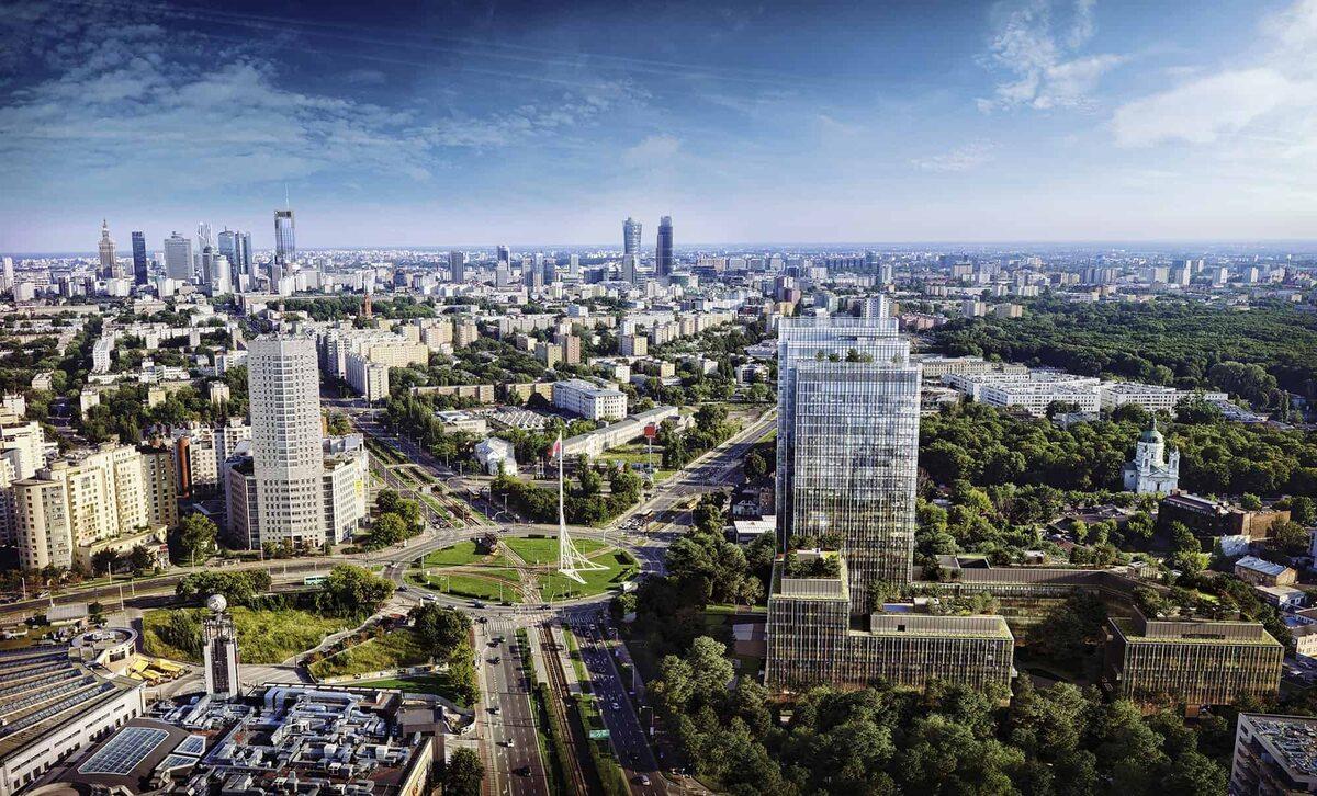 Forest Burakowska Forest - nowy kampus biurowy od HB Reavis