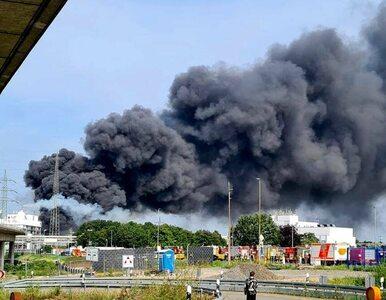 Chmura dymu po silnej eksplozji w Leverkusen dociera nad Polskę. Co nam...