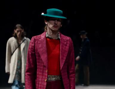 Gucci sprzedaje sukienkę dla mężczyzn za 10 tys. zł. Walczy z...