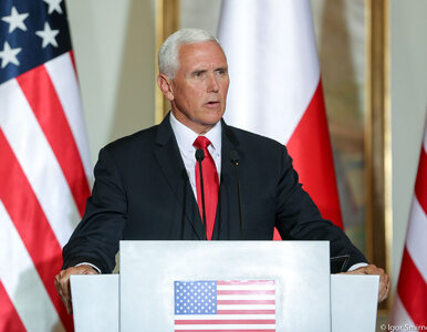 Mike Pence o Polakach i Amerykanach: We're rodzina